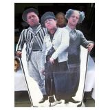 Three Stooges cut outs