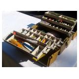 tackle box and lures