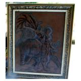 Leather framed Matador