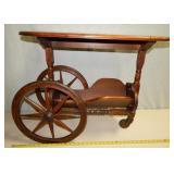 A3  Walnut Tea Cart