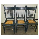 A4   Vintage Wood Chairs