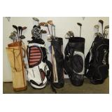 E1  Golf Clubs and Bags