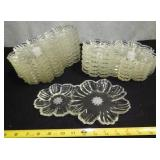 B3  Vintage Crystal Dishes
