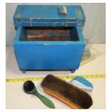 C2  Vintage Shoe Shine Kit
