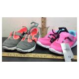 E5 TWO NEW PAIRS OF SIZE 11 GIRLS SHOES