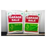 E1 Garage Sale Sign kit, think Spring