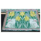E1 Very nice Easter placemats. Quantity 5