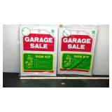 E2 Garage Sale Sign kits