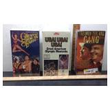 D1 LOT OF THREE VHS TAPE SETS