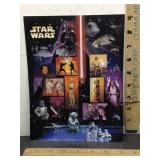 E3 STAR WARS COLLECTORS STAMP SHEET, FULL OF 15 X