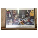 SW FRAMED SPORTS PICTURE