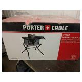 G1 Porter-Cable portable 10-inch table saw new