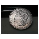 1921-d silver Morgan dollar