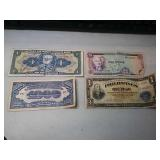 4 foreign notes