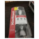 M3 kwikset keyed entry door knobs fits all