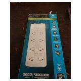 M3 CE tech energy saving surge protector for foot