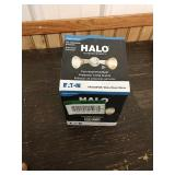 M3 Halo outdoor security twin head flood light