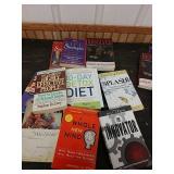 M3 lot of self-help books