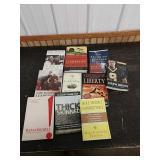 M3 lot of books on leadership