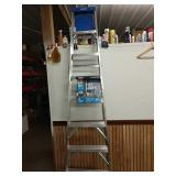 Ce 8 foot step ladder 12 foot Max reach 250 lb