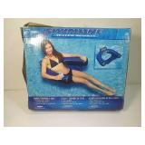 Swimline fabric-covered u-seat