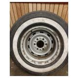 F1 Uniroyal Steeler p 235 75 R15 tire with rim