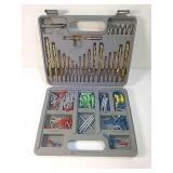 Tool set in case
