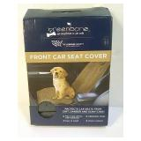 Front car seat cover for pets