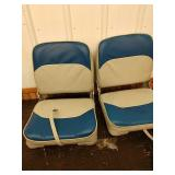 J1 brand new fold down boat seats with mounting