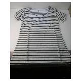 New striped ladies shirt small