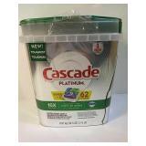 Cascade Platinum dishwasher detergent packs
