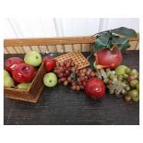 M6 lot of  decorative fruits