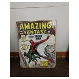 Sc19 amazing fantasy tin sign 16 x 12 and a half