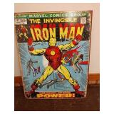 Sc19 the invincible iron Man tin sign 16 x 12 and