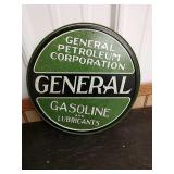 Sc19 General petroleum corporation  tin sign 12in