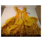 Little girls princess layered dress