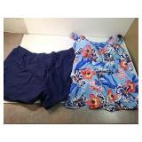 XXL floral swimsuit