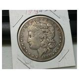 Better date 1884 S silver Morgan dollar