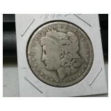 1890 O silver Morgan dollar