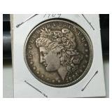 Better date 1904 silver Morgan dollar