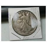 Better date 1917 S reverse mint mark silver