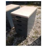 ZL 4 drawer filing cabinet 16 in wide 24 in deep
