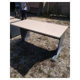 ZL desk 60 in wide 30 in deep 30 in tall
