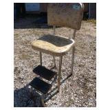ZN vintage step stool