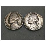 Better date 1939 s, 1940 s Jefferson nickels