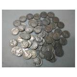 Lots of assorted Buffalo nickels