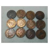 12 Indian Head cents