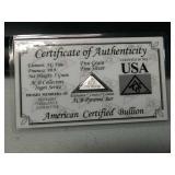 5 grain 999 fine silver pyramid bar