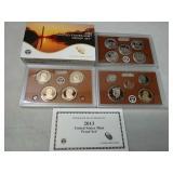 2013 u.s. mint proof set