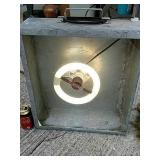 Starlight wattsaver light incubator in galvanized